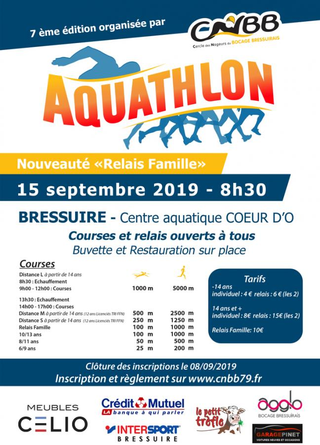 Aquathlon 2019 - 7ème EDITION